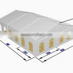 6x9m Luxury Marquee Wedding Party Tent