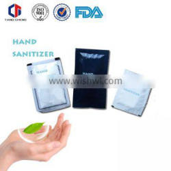 OEM 5ml Hand sanitizer packets with high quality