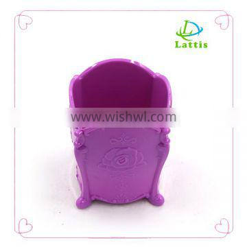 Customized colorful plastic Hanging Rotating Jewelry Display Rack