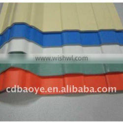 China corrugated steel roofing sheet / roofing material