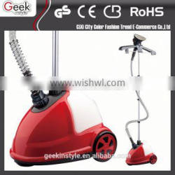 220 v 1500 w vertical metal hand electric amazon selling hand held garment steamer for ironing clothes