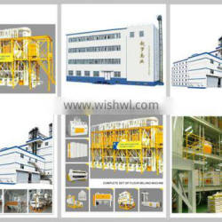 12-15TPD Small Wheat Flour Milling Machines with price