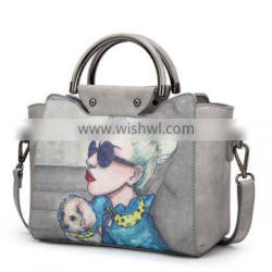 Package female 2017 new wave Korean version of the wild Messenger bag fashion personality female bag atmosphere simple portable