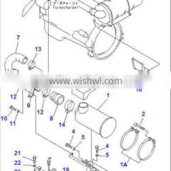 China made wholesale price excavator spare parts on PC300-6 sensor 7861-91-1420 in stock