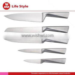 5 pcs stainless stain knife with hollow handle