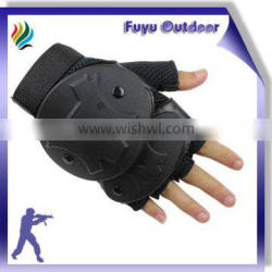 newest Combat Non-slip Tactical Gear Black Hard Knuckle Tactical Gloves|tactical pouch