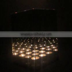infinity 9 bougies cube candle holder
