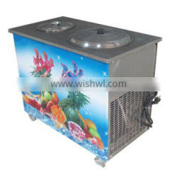2014 CE approved, single pan roll fried ice cream machine in China