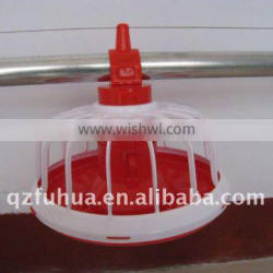 poultry pan feeder system