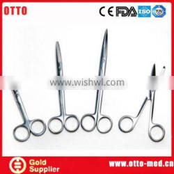 Stainless steel surgical scissors names