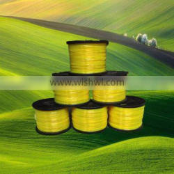 YiWu Factory Wholesale used lawn mower bobbin spare parts 15M Nylon cutter Grass weed trimmer line / manual grass cutter line