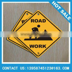 cheap quality reflective aluminum road work metal signs made in China