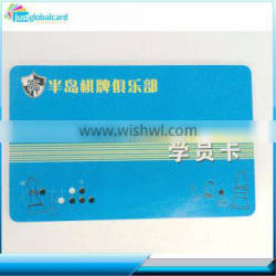 pvc smart card hybrid cards with qr code and company name printed