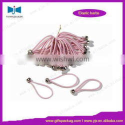 Pink rubber bands with Ball end