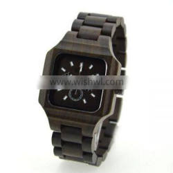Hot sell Fashion wooden wrist watch for man