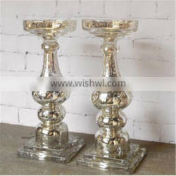 tall Italy style crystal glass candlestick wedding candelabra centerpiece