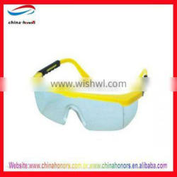 safety goggles yellow lens/double lens safety glasses
