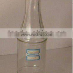supply condiment jam/soy sauce glass bottle with plastic easy-open cap