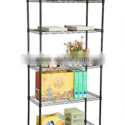 5 level wire display shelving