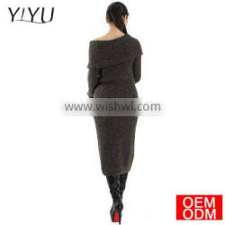 Spring Autumn Women sexy Sweater Dresses Winter Christmas Long Sweaters Knitted Thick Warm Sweater and Pullovers Burderry Jumper