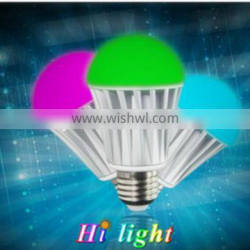 Bluetooth discoloration smart bulb smartphone powered household light