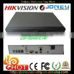 Hikvision DS-7604NI-E1/4P Support IP POE Cameras