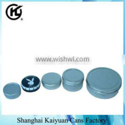 High Quality Round Gift Tin Can Box (various lids and printing)