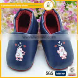 High quality infant shoes hot sale newborn baby leather shoes