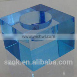 fashion design acrylic cheap candle holders