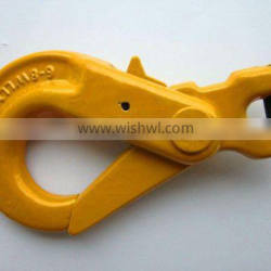 G80 clevis self-locking forged hook