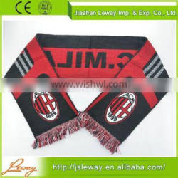 Made in China fashion sport scarf wholesale winter knitted scarf