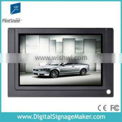 7 inch lcd flint stone Best selling body activated digital player monitor