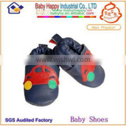 wholesale car fashion soft sole non-slip ventilate leather shoes baby for toddler