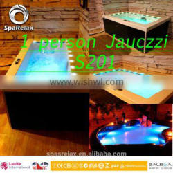 spa bath tubs with jacuzzy function 1 person hot tub hot spa equipment with CE approved
