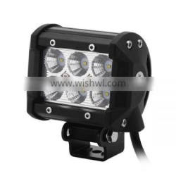 18W Led Work Light bar Ip68 Auto offroad led working light bar For Offroad,Tractor,Truck