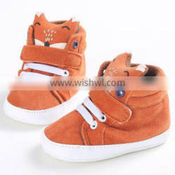 2016 soft sole leather baby shoes for wholesale animal cute baby shoes