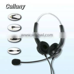 USB connector clear voice telephone headset call center