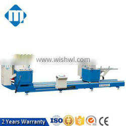 cnc precise double head aluminum cutting saw for door and window manufacturer machine