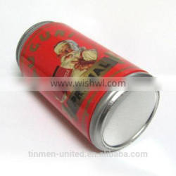 Wholesale round red watch tin can