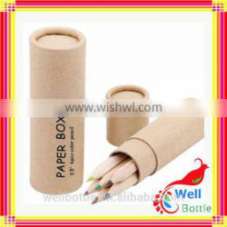 Customized printed paper tube with biodegradable cardboard paper tube with flat edge paper tube