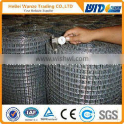 High quality cheap 1x1 welded wire mesh low price 1x1 welded wire mesh(CHINA SUPPLIER)