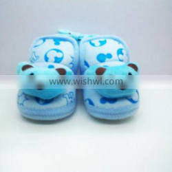 Babyfans Good Quality Hot Sale Baby Cotton Shoes Funny Prewalker Baby Shoes