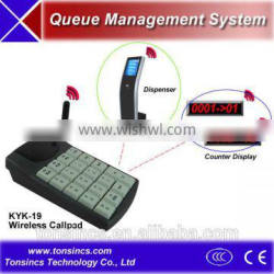 Wireless Calling Manipulator Of Queuing System