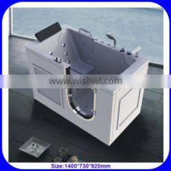 China wholesale walk in bathtub with seat and door