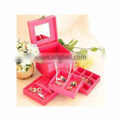 2013 new style professional beauty box Wholesale with Mirror drawer