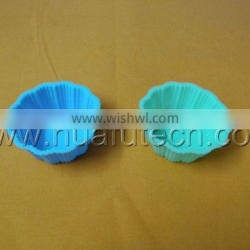 lovely silicone heart cake mold