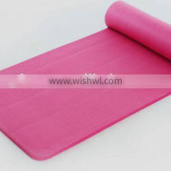 best quality pvc yoga mat OEM best quality 6p free made in china
