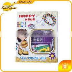 Cheap price DIY set for kids cell phone chic