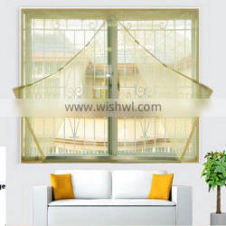 Pure color of Magnetic Window Screen for Anti-mosquito with Avoid Wearing Magnetic Stripe Encryption Stealth Gauze Net