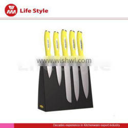 nice design stainless steel knife set with trp handle